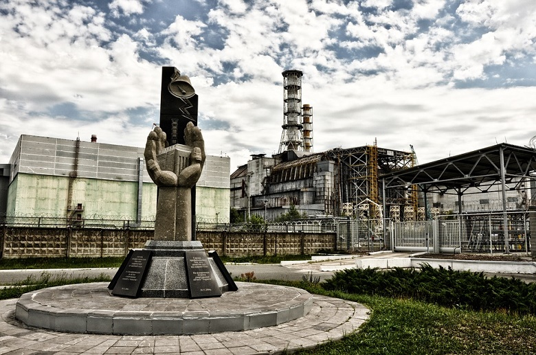 Monument to participants in the liquidation of the consequences of the Chernobyl NPP accident